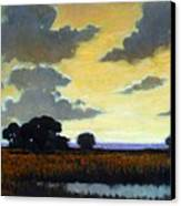 End Of The Day Canvas Print by Kevin Lawrence Leveque