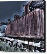 End Of The Line. Canvas Print by Ian  Ramsay