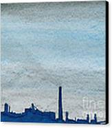 Energy Canvas Print by R Kyllo