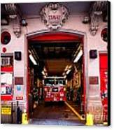 Engine Company 65 Firehouse Midtown Manhattan Canvas Print by Amy Cicconi
