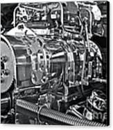 Engine Envy Canvas Print by Linda Bianic