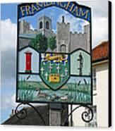 English Market Town Canvas Print