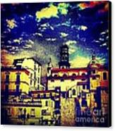 Enraptured By Amalfi Canvas Print by H Hoffman