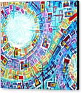 Enterprise Canvas Print by Diana Almand