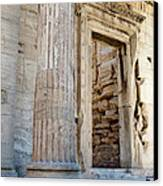 Entrance To The Temple Of The Athena Nike Canvas Print