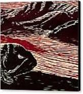 Entre Viento Y Sol Canvas Print by Maria Arango Diener