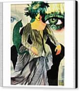 Envy Canvas Print by Eve Riser Roberts