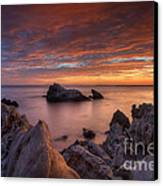 Epic California Sunset Canvas Print by Marco Crupi