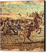 Equestrian Folklore Canvas Print by Ernestine Manowarda