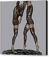erotic acrobatics 2EA 1 Canvas Print by Pemaro