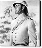 Errol Flynn In The Charge Of The Light Brigade Canvas Print