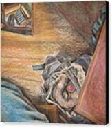 Escape Hatch Canvas Print by Ellen Howell