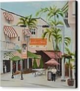 Espanola Way South Beach Florida Canvas Print