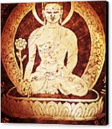 Etched Buddha  Canvas Print