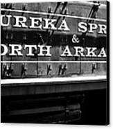Eureka Springs Railroad Canvas Print by Benjamin Yeager