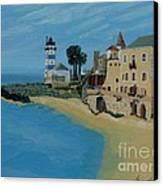 European Lighthouse Canvas Print
