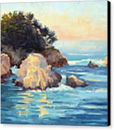 Evening Light Point Lobos Canvas Print