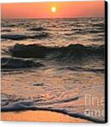 Evening Pastels Canvas Print by Adam Jewell