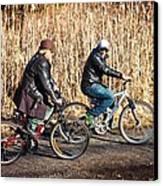 Evening Ride Canvas Print by Richie Stewart