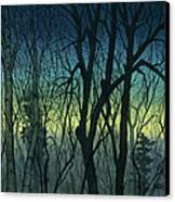 Evening Stand Canvas Print