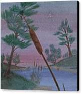 Evening Wish Canvas Print by Robert Meszaros