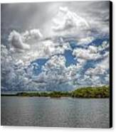 Everglades Lake 6919 Canvas Print by Rudy Umans