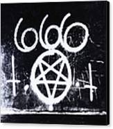 Evil Canvas Print by Margie Hurwich