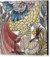 Exotic Bird Canvas Print by William Morris