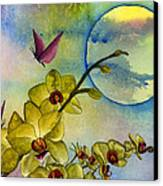 Exotic Moon Canvas Print by Diane Ferron