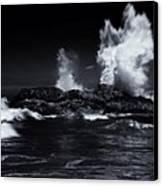 Explosion Canvas Print by Mike  Dawson
