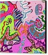 Expression Fantastic Canvas Print