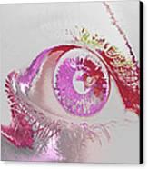 Eye 3 Canvas Print by Soumya Bouchachi