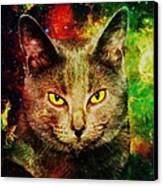 Eye Contact Canvas Print by Anastasiya Malakhova