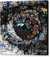 Eye Of A Hurricane Called You Canvas Print
