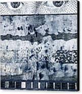 Eyes On Seven Canvas Print