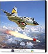F-106 Delta Dart 5th Fis Canvas Print