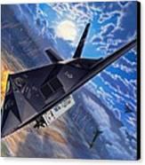 F-117 Nighthawk - Team Stealth Canvas Print