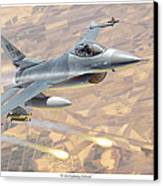 F-16 Fighting Falcon Canvas Print