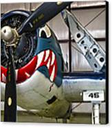 F6f Hellcat Canvas Print by Dale Jackson