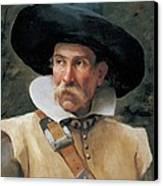 Fabbri Paolo Egisto, Portrait Of A Man Canvas Print by Everett