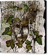 Face In The Garden Canvas Print