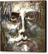Face Series 1 Canvas Print by Michelle Dommer