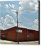 Factory Store Canvas Print by Beverly Hammond