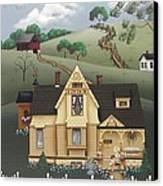 Fairhill Farm Canvas Print