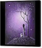 Fairy Art By Shawna Erback Canvas Print by Shawna Erback