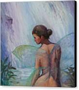 Fairy  Enchanted  Canvas Print by Gwen Carroll