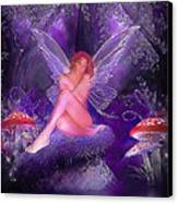 Fairy Fantasy Canvas Print by Brian Graybill