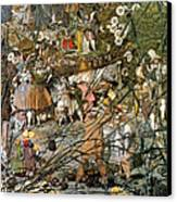 Fairy Fellers Master-stroke Canvas Print