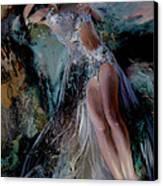 Fairy Canvas Print by Nelya Shenklyarska