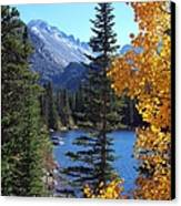 Fall At Bear Lake Canvas Print by Tranquil Light  Photography